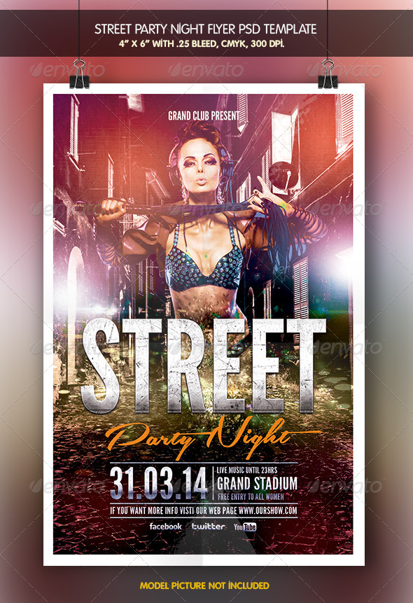 Street Party Night - Clubs & Parties Events