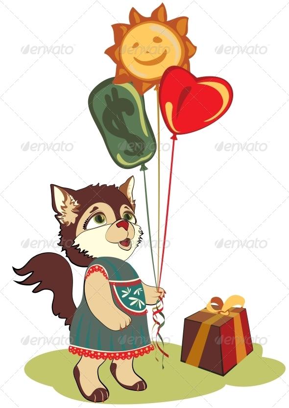 Cat Greeting Card - Birthdays Seasons/Holidays