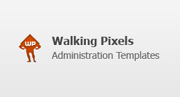 Walking Pixels Admin Templates