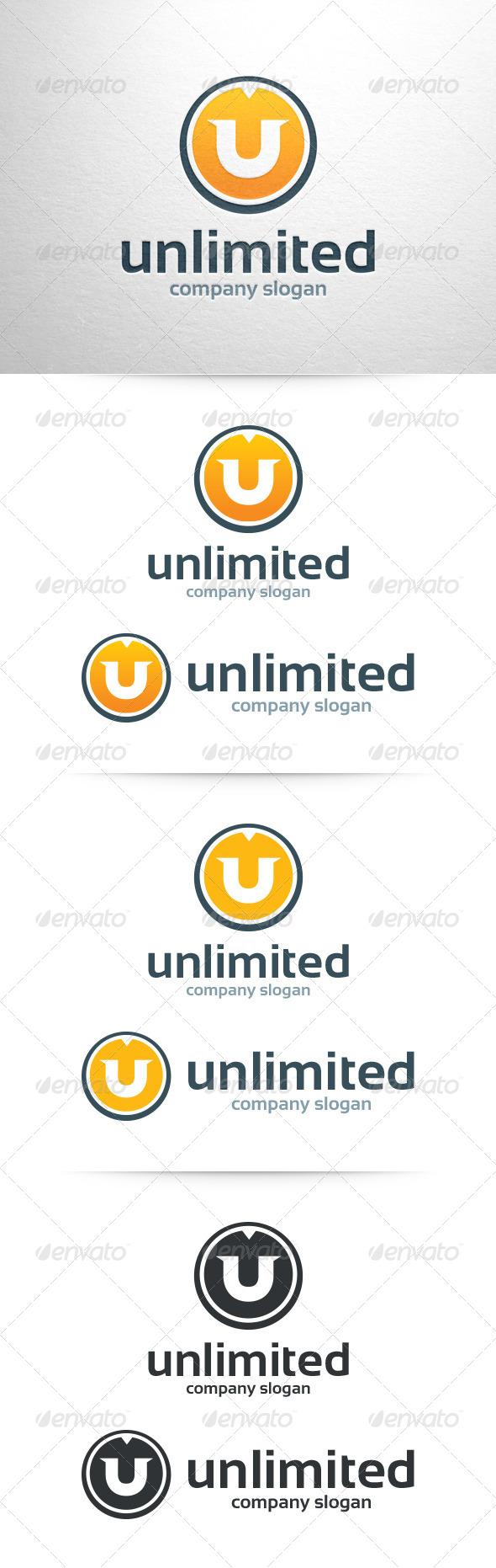 Letter U Logo Template - Letters Logo Templates