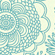 Vector detailed ornamental floral background - GraphicRiver Item for Sale