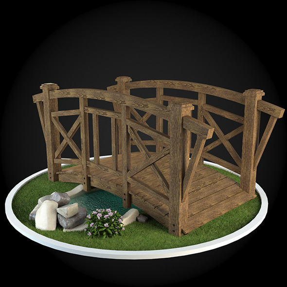 Bridge 024 - 3DOcean Item for Sale