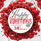 Happy Valentines Night Flyer - GraphicRiver Item for Sale