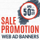Weekend Sale Promotion Web Ad Banners - GraphicRiver Item for Sale