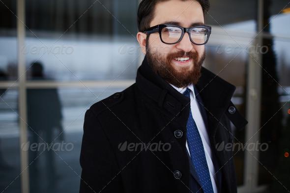 Stylish businessman - Stock Photo - Images
