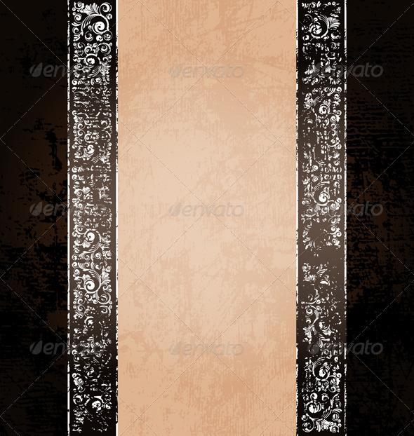 Vintage banner - Backgrounds Decorative