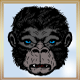 Female Gorilla Head - GraphicRiver Item for Sale