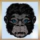 Female Gorilla Head - GraphicRiver Item for Sale