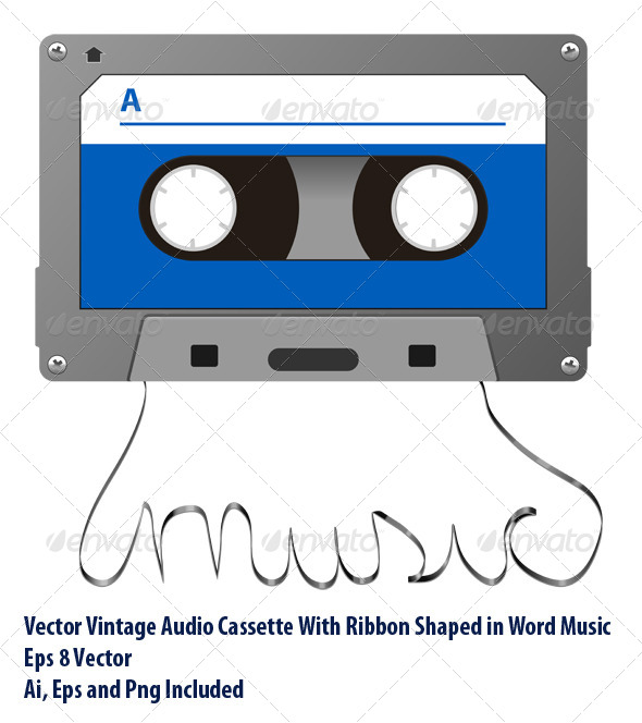 Audio Tape - Conceptual Vectors