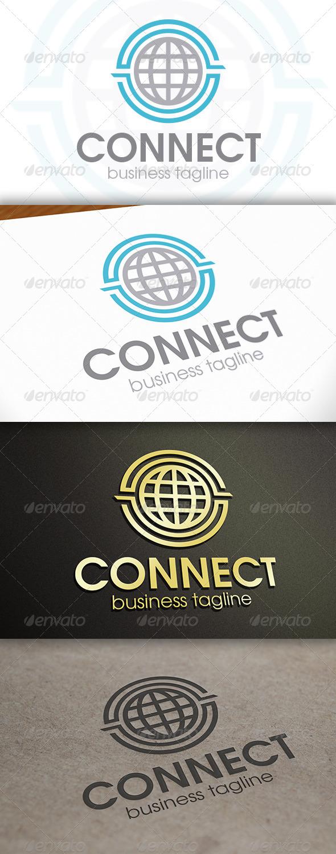 World Connect Logo - Symbols Logo Templates