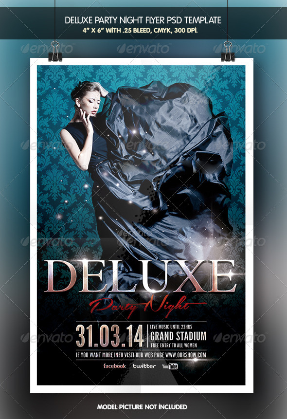 Deluxe Party Night - Clubs & Parties Events