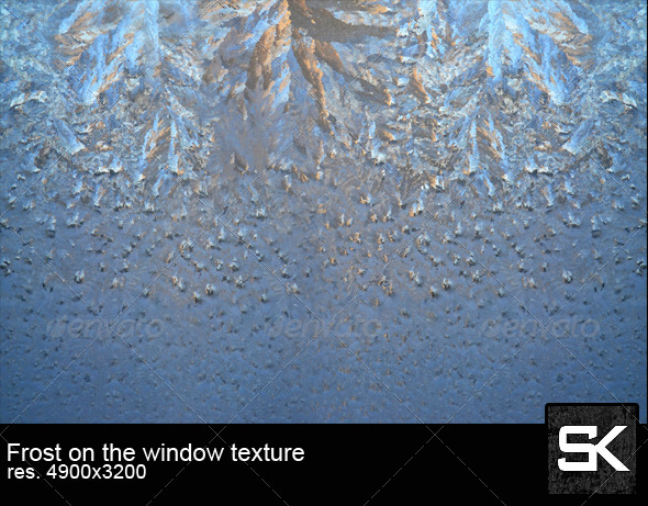 Frost On The Window - Miscellaneous Textures