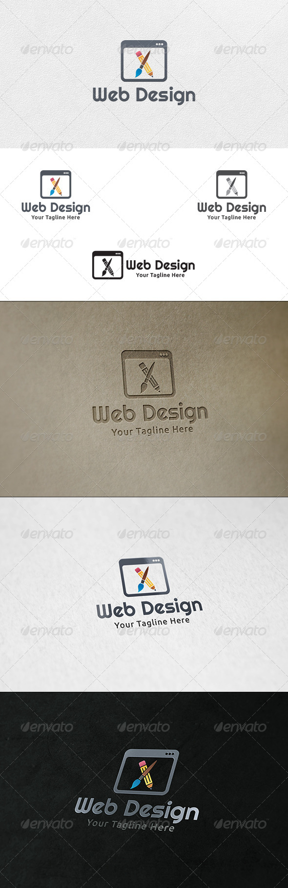 Web Designing - Logo Template - Objects Logo Templates