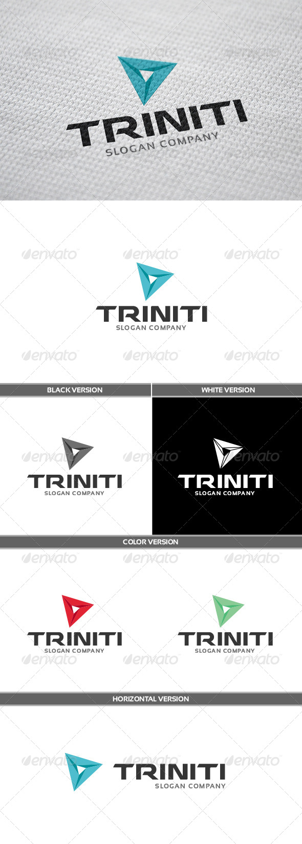 Triniti Logo - Abstract Logo Templates