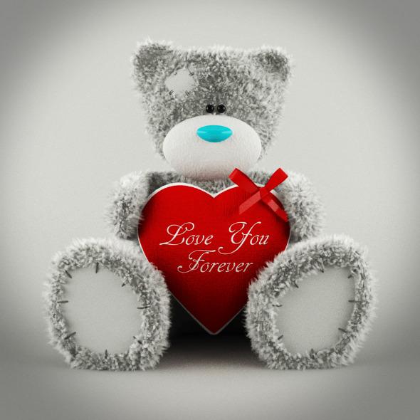 Tatty Teddy Bear - 3DOcean Item for Sale