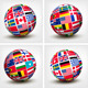 Flags of the World in Globe - GraphicRiver Item for Sale
