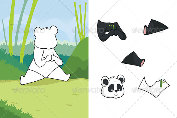 Animal Puzzle - Animals Characters