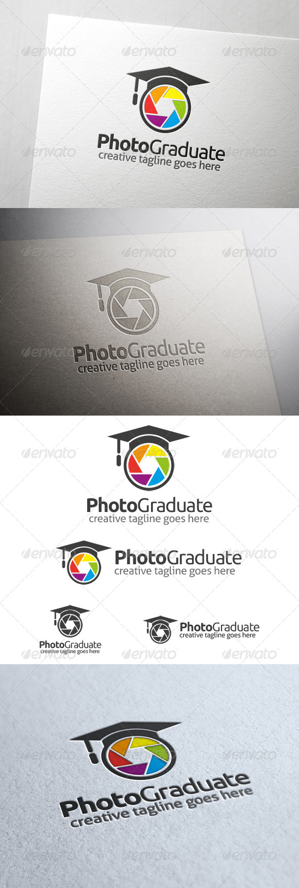 Photo Graduate Logo - Symbols Logo Templates