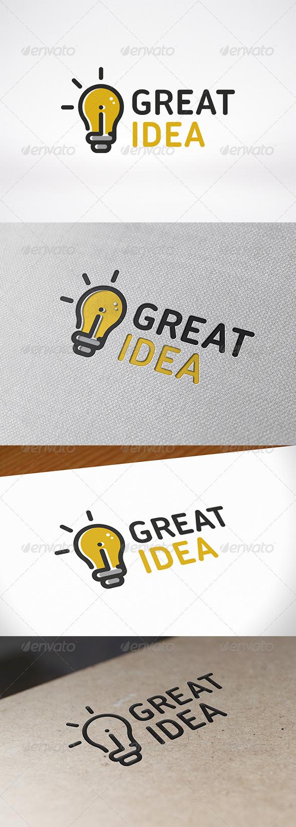 Idea Logo Template - Objects Logo Templates