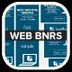 Leaf Host Online Hosting Web Banners - GraphicRiver Item for Sale