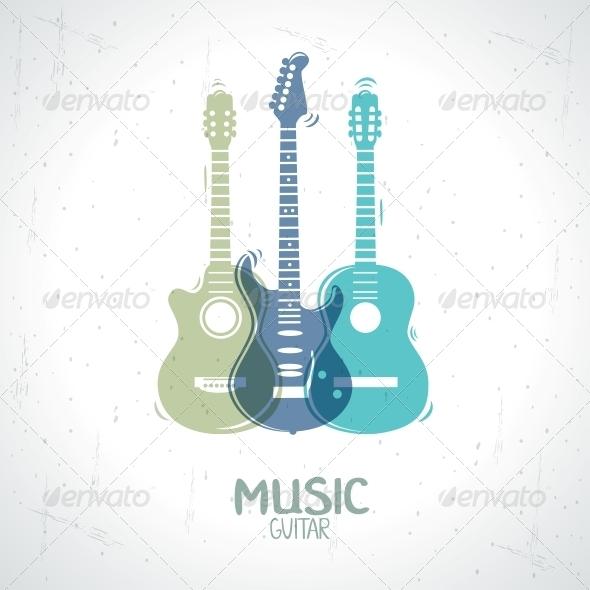 Guitar - Miscellaneous Vectors