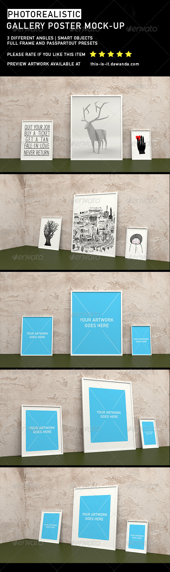 Gallery Poster Mock-Up 2 - Posters Print