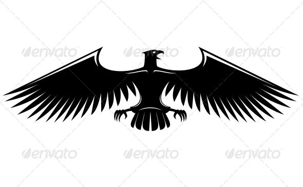Heraldic Eagle - Animals Characters