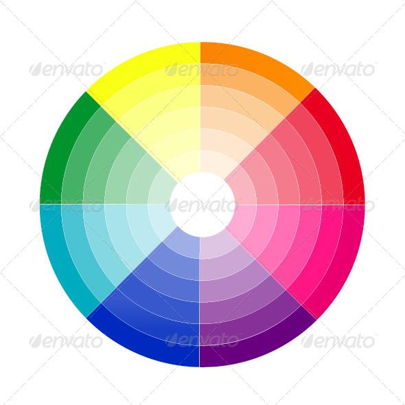 Color Gradient - Vectors