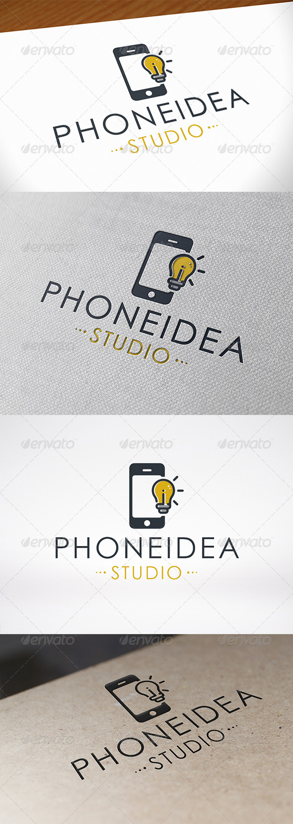 Phone Idea Logo Template - Objects Logo Templates