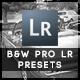 34 B&W  Pro Presets - GraphicRiver Item for Sale