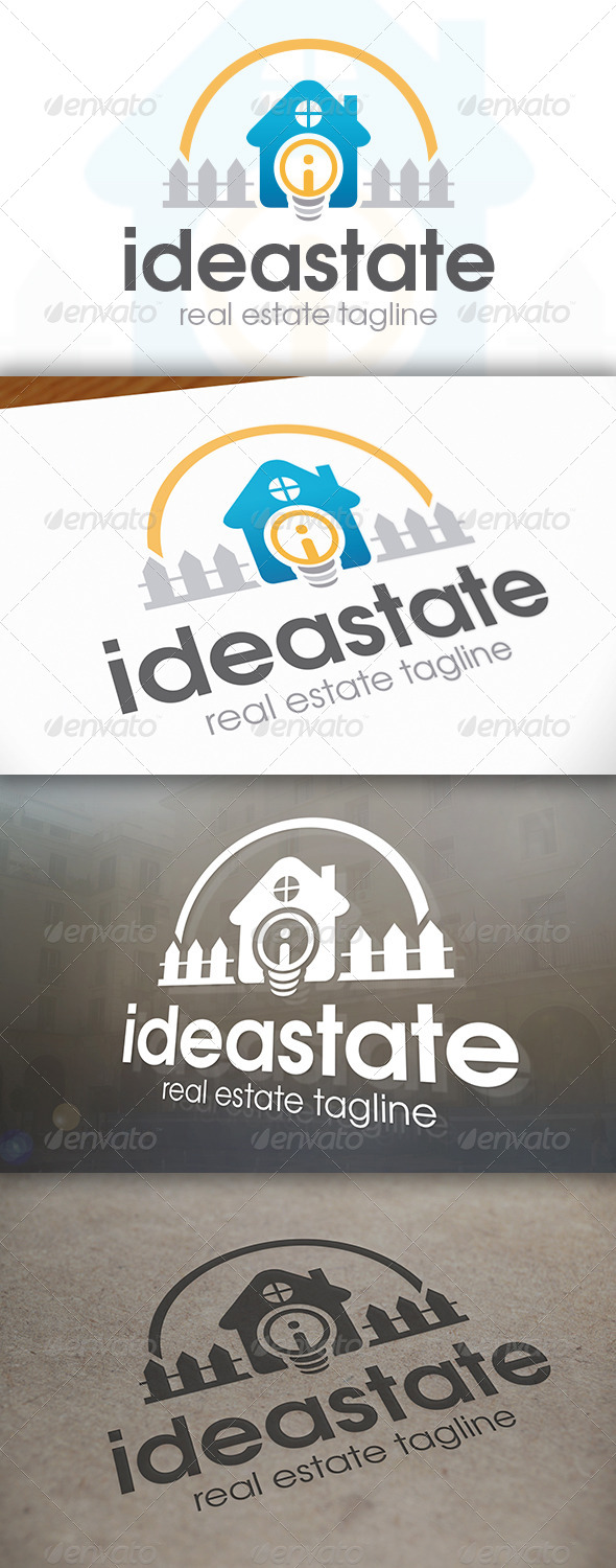 Idea House Logo - Buildings Logo Templates