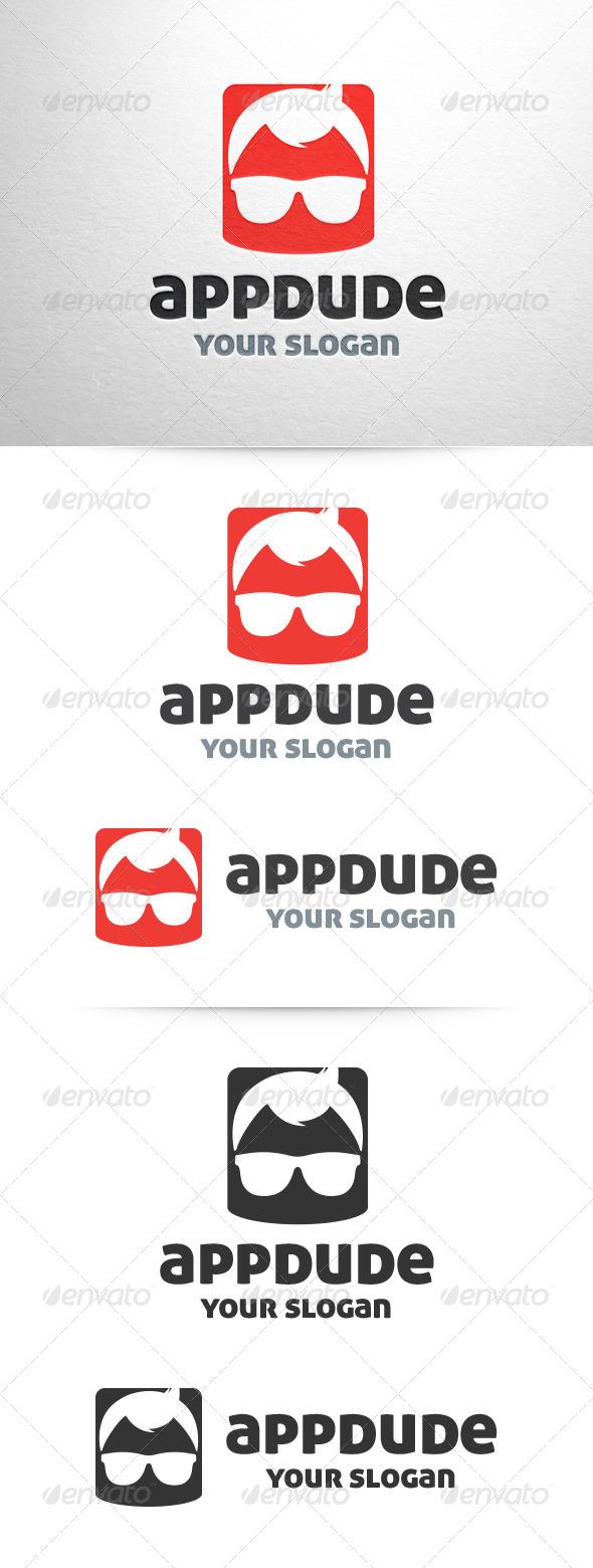 App Dude Logo Template - Humans Logo Templates