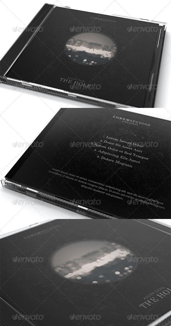 The Hole CD Cover Artwork Template - CD & DVD Artwork Print Templates