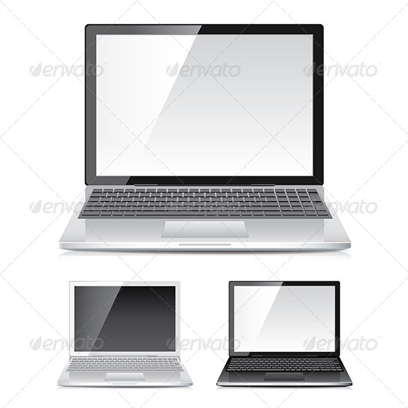 Laptop Set - Computers Technology