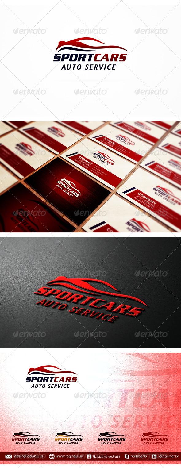 Auto Car Logo - Symbols Logo Templates