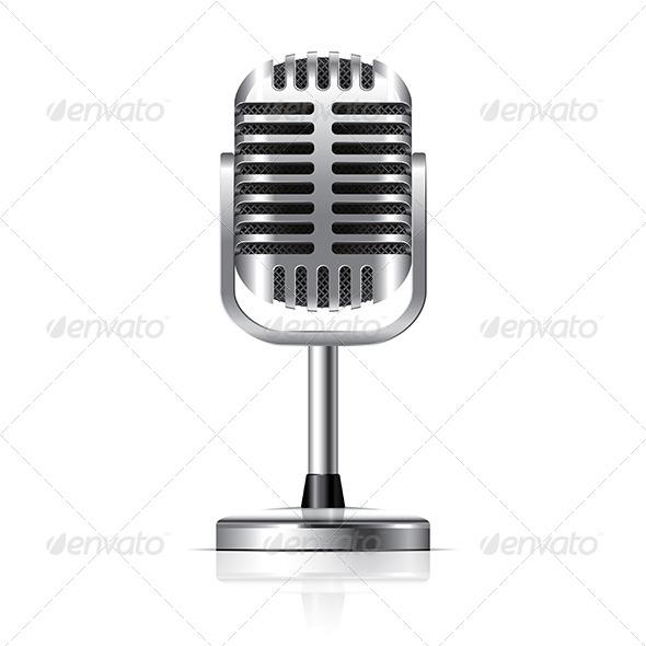 Retro Microphone - Retro Technology