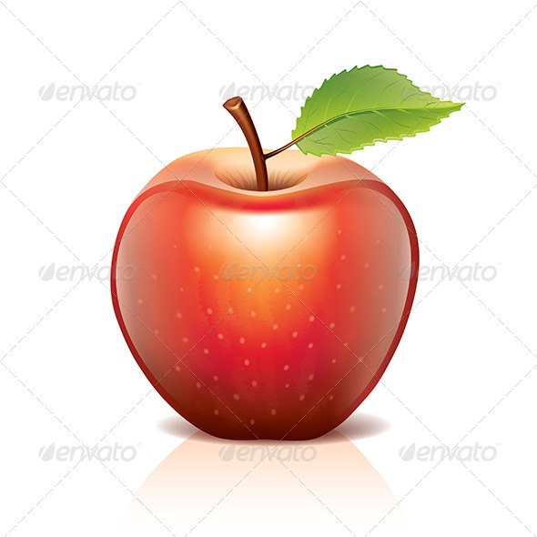 Red Apple - Food Objects