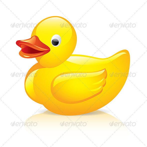 Rubber Duck - Man-made Objects Objects