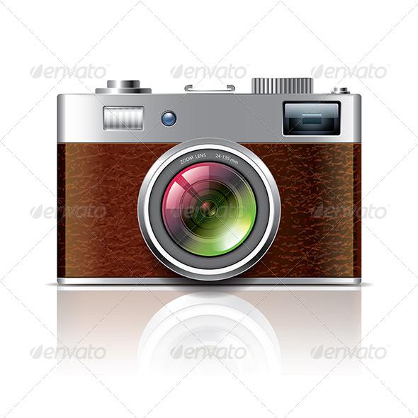 Retro Photo Camera - Retro Technology