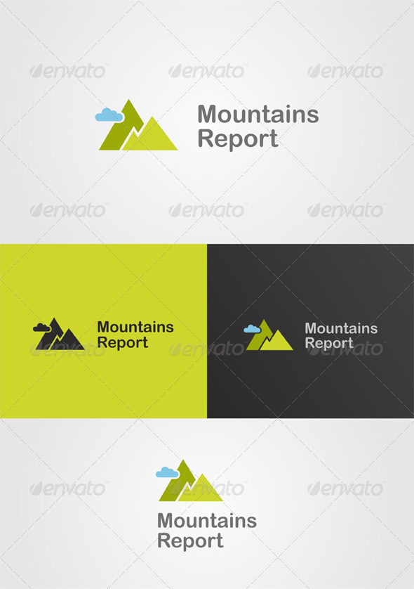 Mountain Logo / Nature Theme - Nature Logo Templates