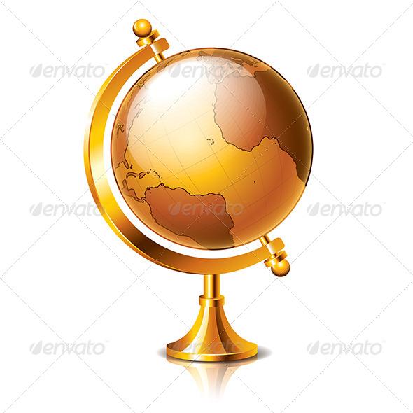 Retro Globe - Miscellaneous Conceptual