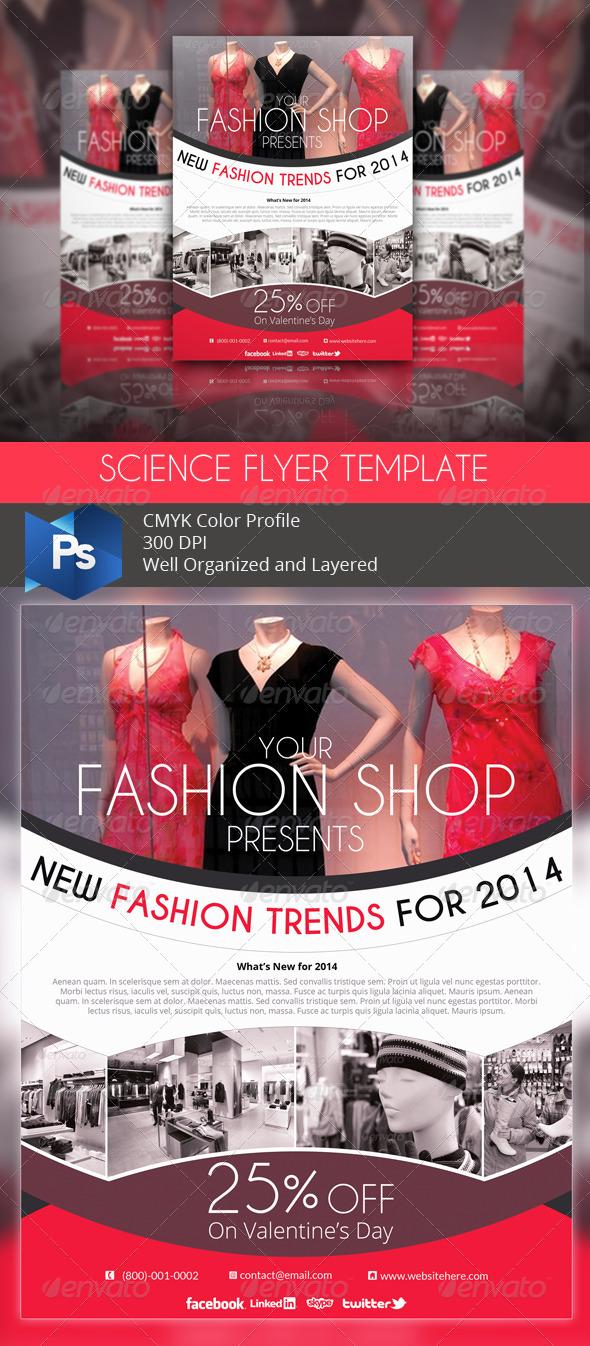 Fashion Shop Flyer - Commerce Flyers