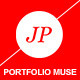 JP Portfolio One page | Muse Template - ThemeForest Item for Sale