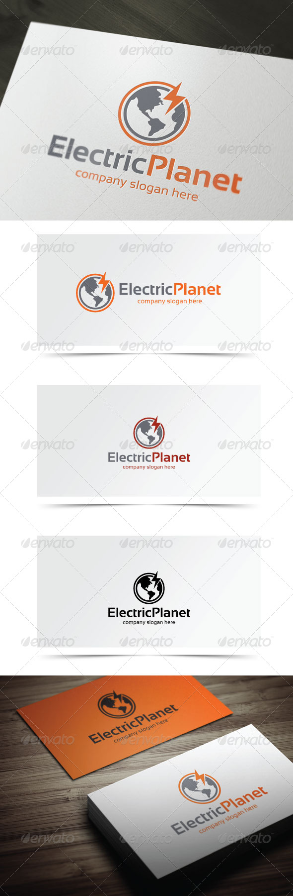 Electric Planet - Objects Logo Templates