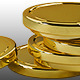 8 Stacks of Coins Made of Gold - GraphicRiver Item for Sale