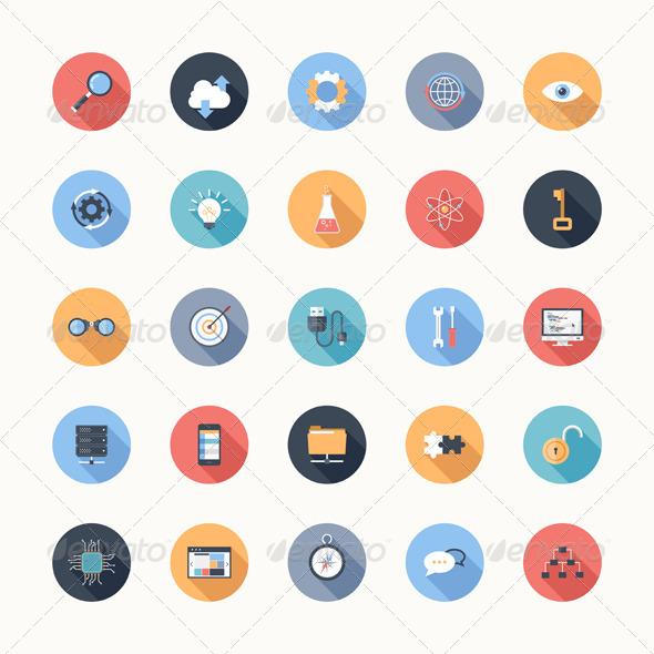 Seo Icons - Technology Icons