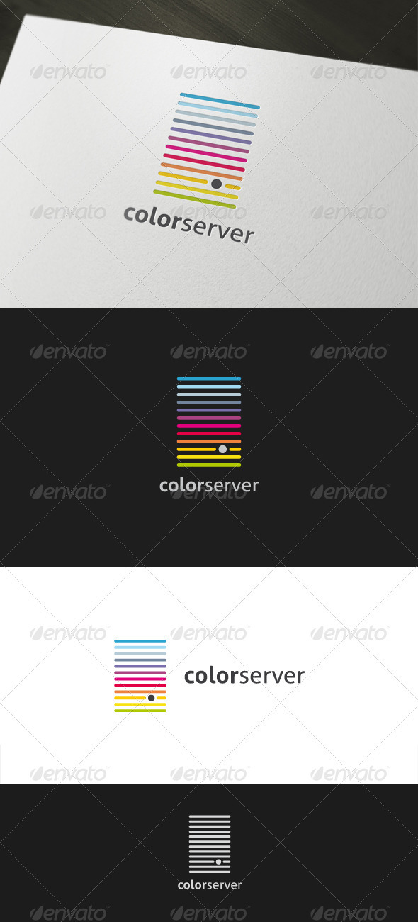 Color Server - Objects Logo Templates