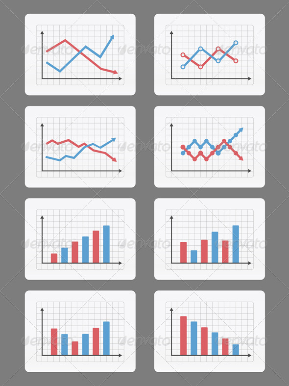 Graphs and Charts - Business Conceptual