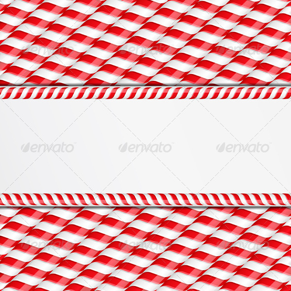 Candy Canes Background - Seasons/Holidays Conceptual