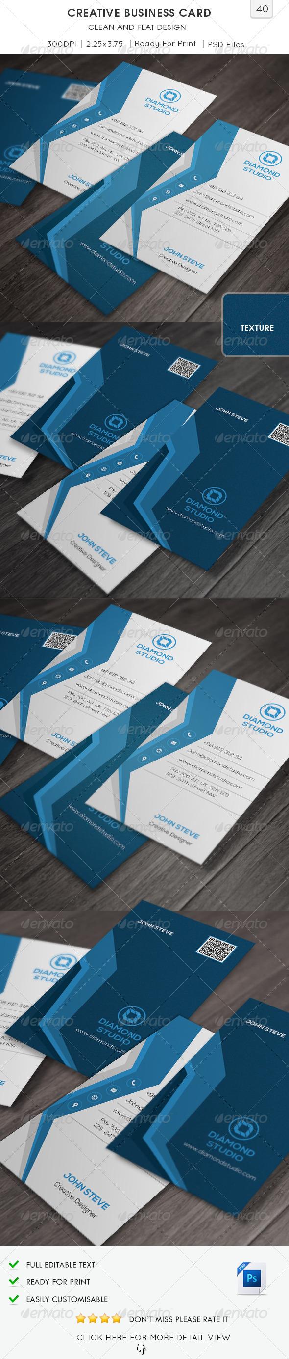 Creative Business Card v40 - Creative Business Cards